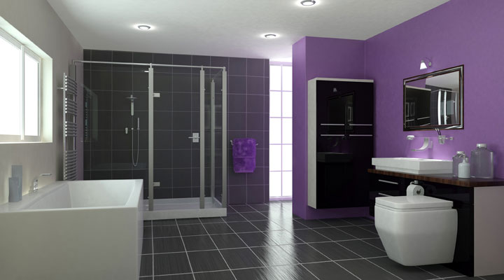 Bathrooms halmshaws of hull beverley bathroom - Peinture sur carrelage salle de bain photos ...