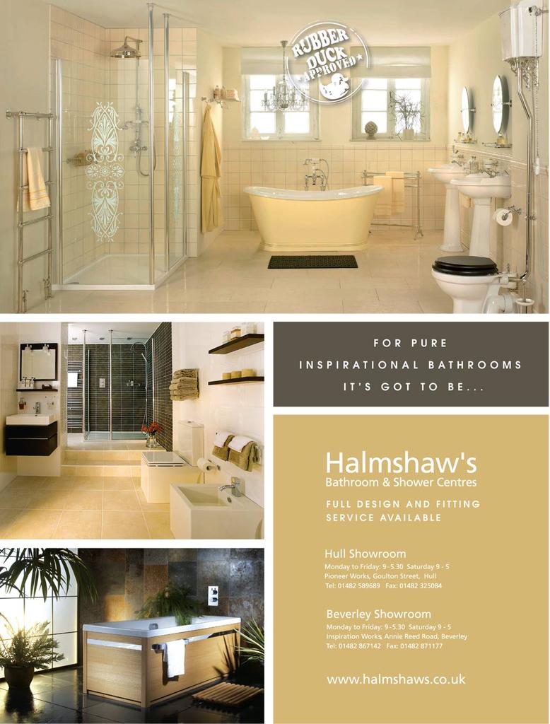 Bathroom showrooms hull - Press Halmshaws Of Hull Amp Beverley Bathroom Suppliers
